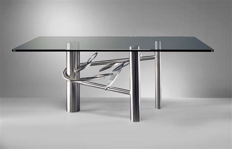 stainless steel dining room table 20 sleek stainless steel dining tables