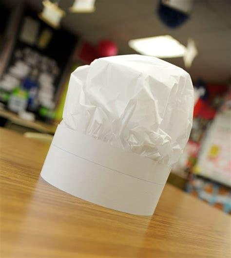 paper chef hat craft 13 how to make a paper hat tutorials tip junkie