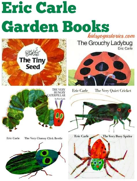 garden picture books eric carle books and garden stories