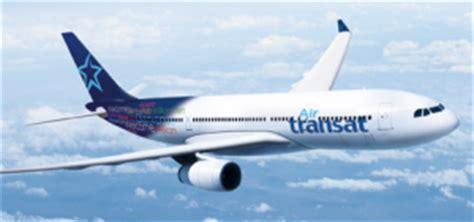 air transat annulation modification de votre billet d avion