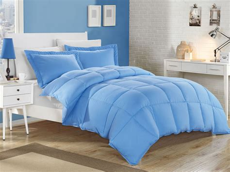 king comforter sets blue blue alternative comforter set