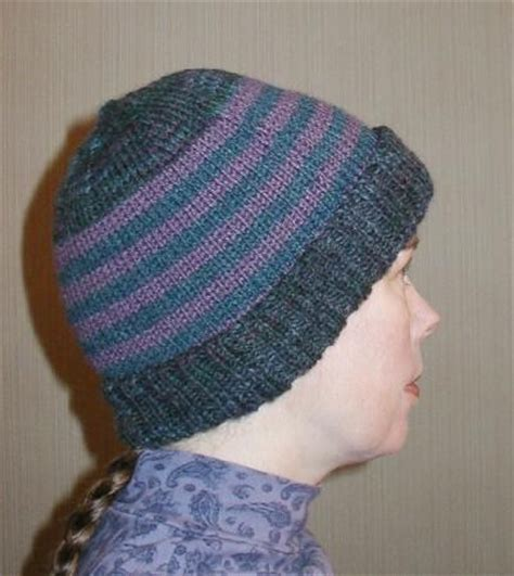 changing yarn knitting knit hat pattern worsted weight 1000 free patterns