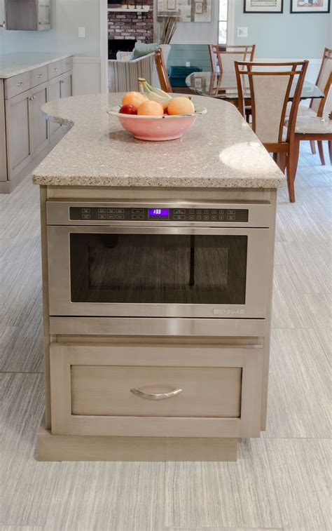 microwave in kitchen island best 25 built in microwave ideas on microwave