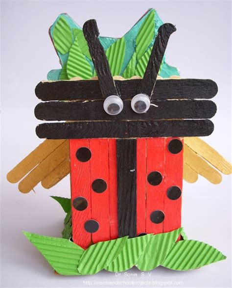popsicle stick craft projects cards crafts projects popsicle stick craft