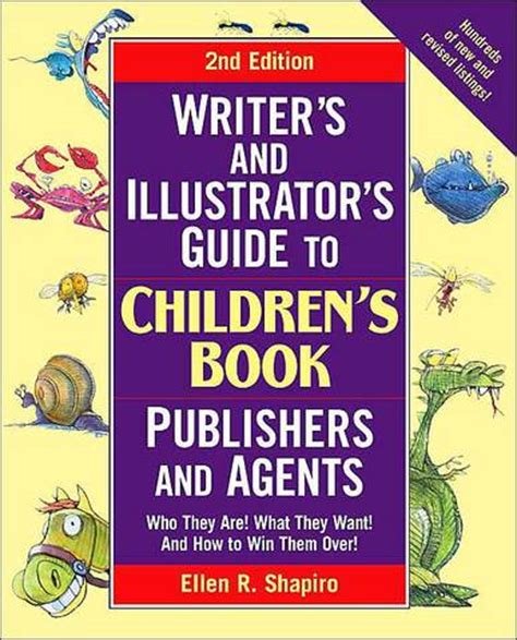 literary agents for picture books writer s illustrator s guide to children s book