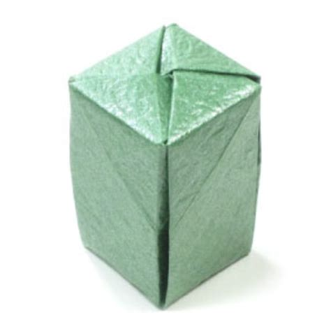 How To Make A Closed Origami Box Page 1