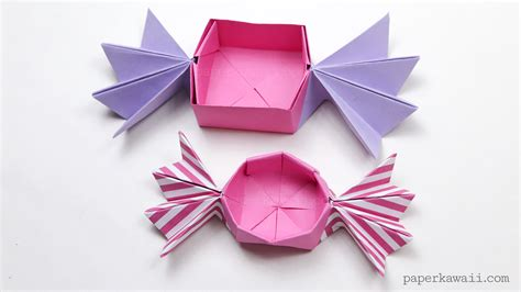 origami with origami box paper kawaii