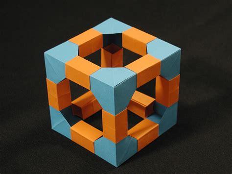 origami module polyhedra kit cube modular origami title polyhedra