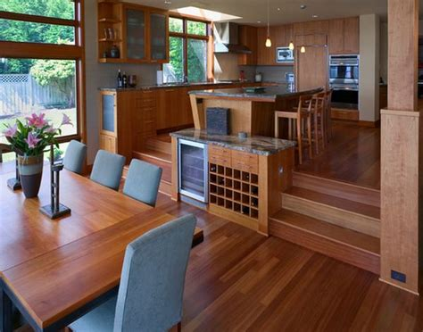 split level kitchen ideas split level home designs for a clear distinction between functions
