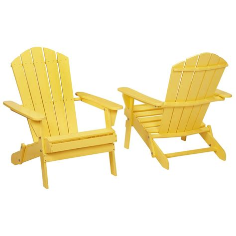 Folding Adirondack Chair Plans by Buttercup Folding Outdoor Adirondack Chair 2 Pack 2 1
