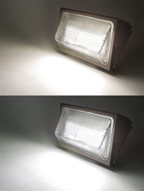 led wall pack net led photocontrol led wall pack 80w 400w mh equivalent