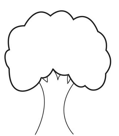 tree shapes shape tree clipart best