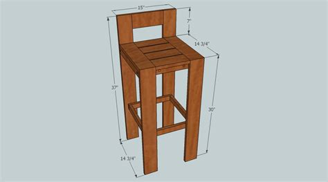 bar stool woodworking plans woodworking diy bar stool plans plans pdf free