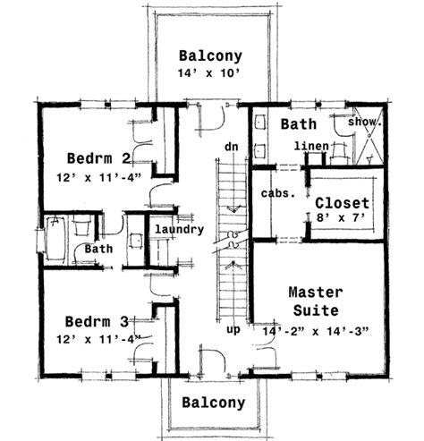 colonial house floor plans center colonial house plan 44045td architectural designs house plans