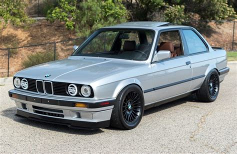 1990 Bmw 325i by Ls6 Powered 1990 Bmw 325i 6 Speed For Sale On Bat Auctions