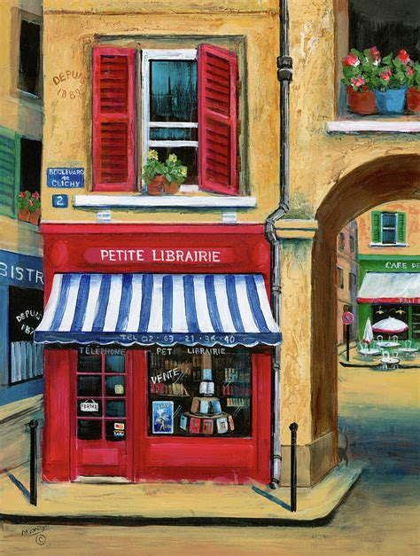 acrylic paint national bookstore book store by marilyn dunlap