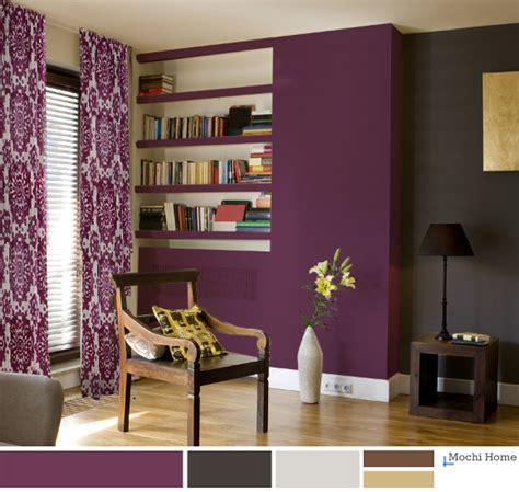 purple paint ideas for living room living room color purple home interior design