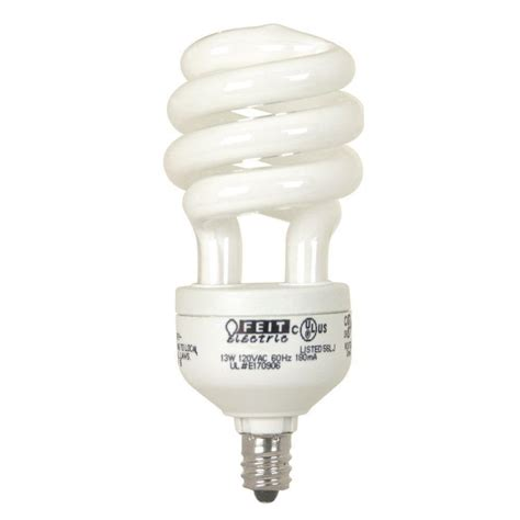 led light bulbs candelabra base 60w feit electric 60w equivalent soft white candelabra base