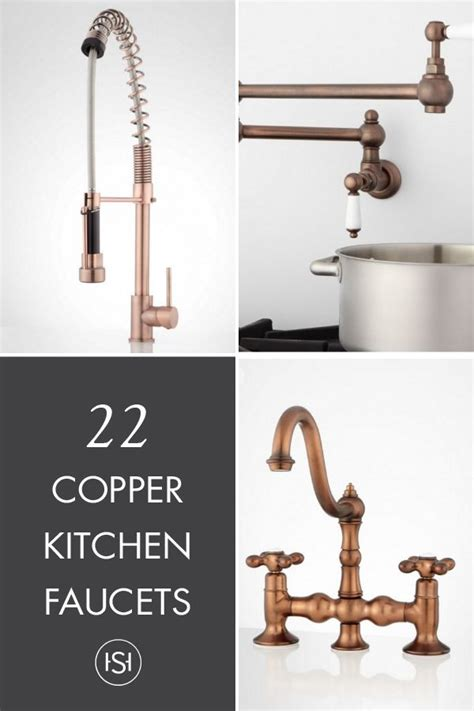 copper kitchen faucet best 25 copper kitchen faucets ideas on brass