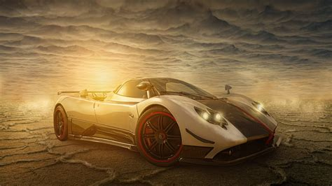 Car Wallpaper Tutorial by Surreal Car Photo Manipulation In Photoshop