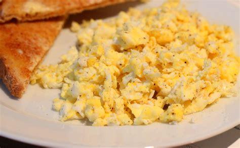 scrabbled eggs scrambled eggs slice dice