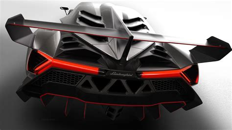 2013 Lamborghini Veneno Luxus Supersportwagen HD Wallpaper