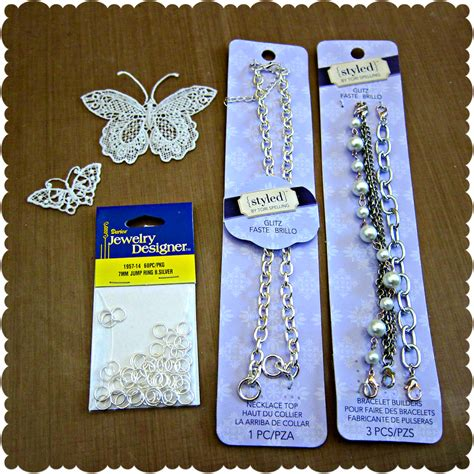 supplies needed for jewelry make your own lace butterfly jewelry morena s corner