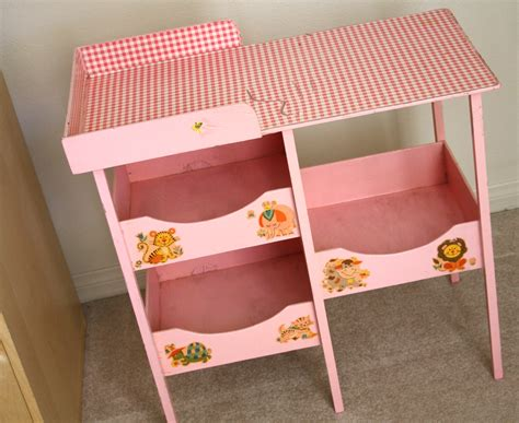doll changing tables sparkle power vintage baby doll changing table