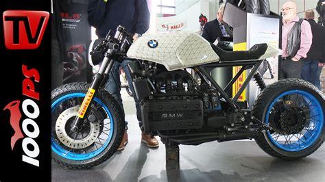 Motorrad Umbau Youtube by Bmw K 100 Umbau Pirelli Stand Motorr 228 Der Dortmund 2016