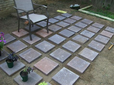 outdoor patio pavers attractive concrete patio pavers outdoor decoration ideas
