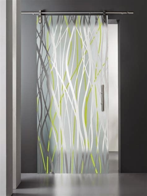 interior etched glass doors cool stained glass interior doors for modern interior