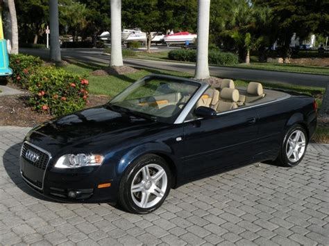 2008 Audi A4 Convertible by 2008 Audi A4 2 0t Convertible For Sale In Fort Myers Fl