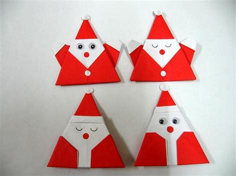 santa origami origami santa claus for colourfulorigami