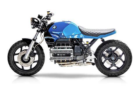 Modified Bmw K100 by 85 Bmw K100 Brat Scrambler Motorelic Pipeburn