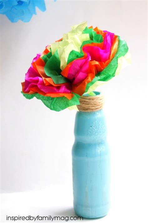 hispanic crafts for how to make tissue paper flowers
