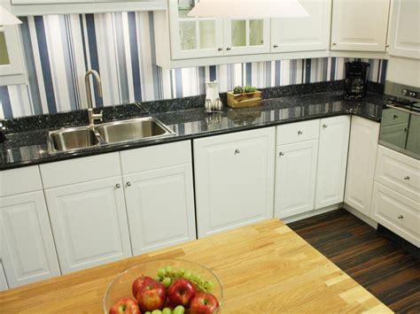 cheap kitchen backsplashes cheap wallpaper backsplash an inexpensive alternative to