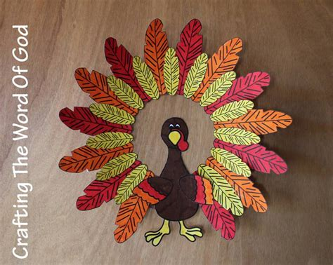 turkey craft project turkey wreath 171 crafting the word of god