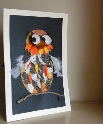 owl craft projects that artist how to make an owl project