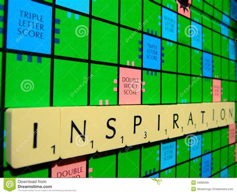 great scrabble words scrabble inspiration editorial stock image image 43086299