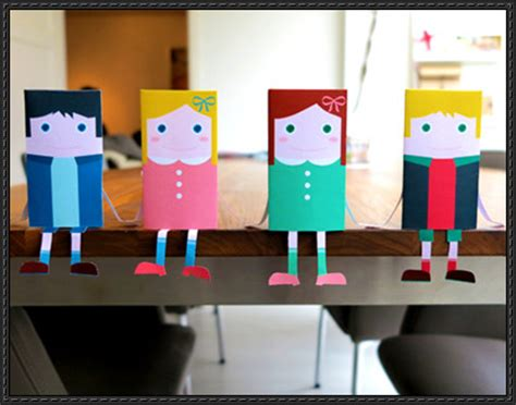 paper crafts for boys boy papercraftsquare free papercraft