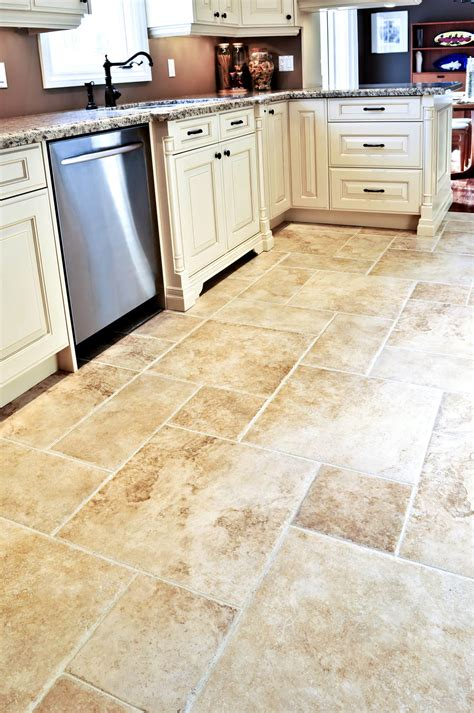 tile designs for kitchen floors square and rectangle tile kitchen floor with white