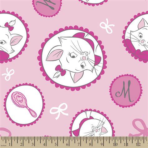 disney knit fabric disney aristocats fleece fabric jo