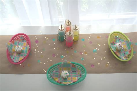 craft paper table runner craft paper polka dot table runner diy catch my