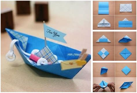 step by step origami boat how to make origami boat for you step by step diy tutorial