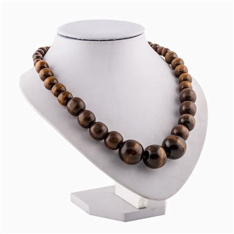wood for jewelry beaded jewelry wooden necklace wooden