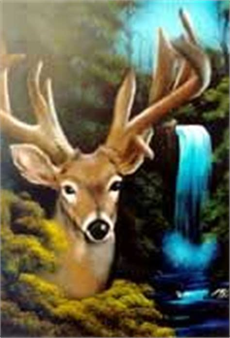 bob ross painting deer bob ross bobs and wildlife paintings on