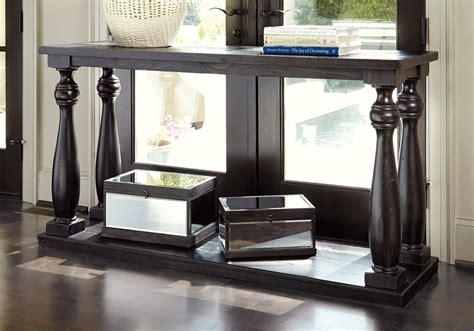 sofa table overstock mallacar black sofa table overstock warehouse