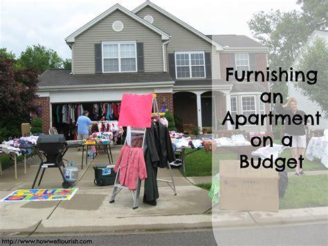 furnishing an apartment furnishing an apartment on a budget how we flourish