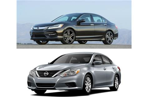 Nissan Accord by 2017 Honda Accord Vs 2017 Nissan Altima To U
