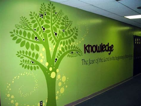Painting Murals On Outside Walls wall murals calvary baptist church amp day school on behance